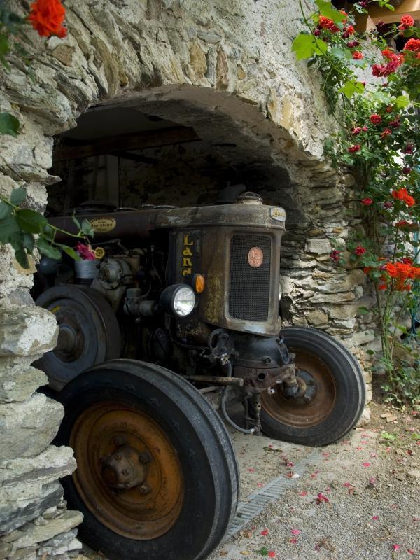 Traktorenmuseum beim Ungerichthof in Kuens