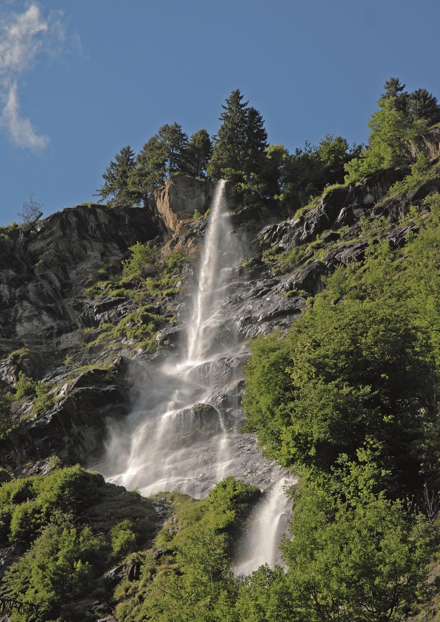 Stuller Wasserfälle in Stuls