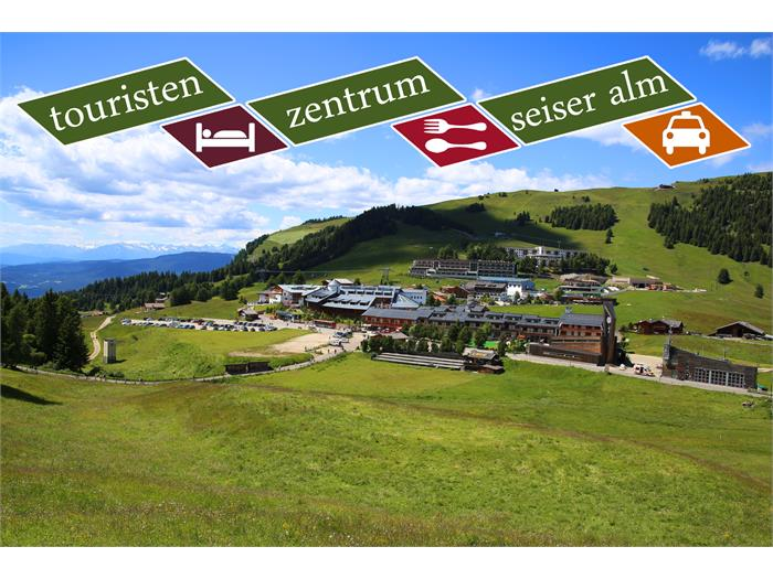 Tourist Center Obexer in summer