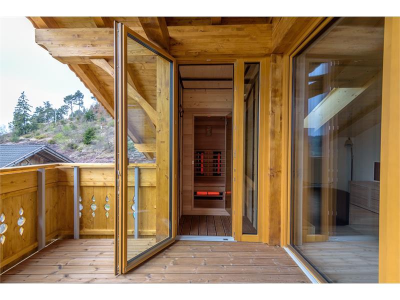 Ferienwohnung mit Sauna - Eggerhof in Vöran