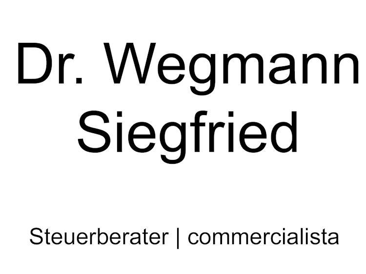 Dr. Wegmann Siegfried