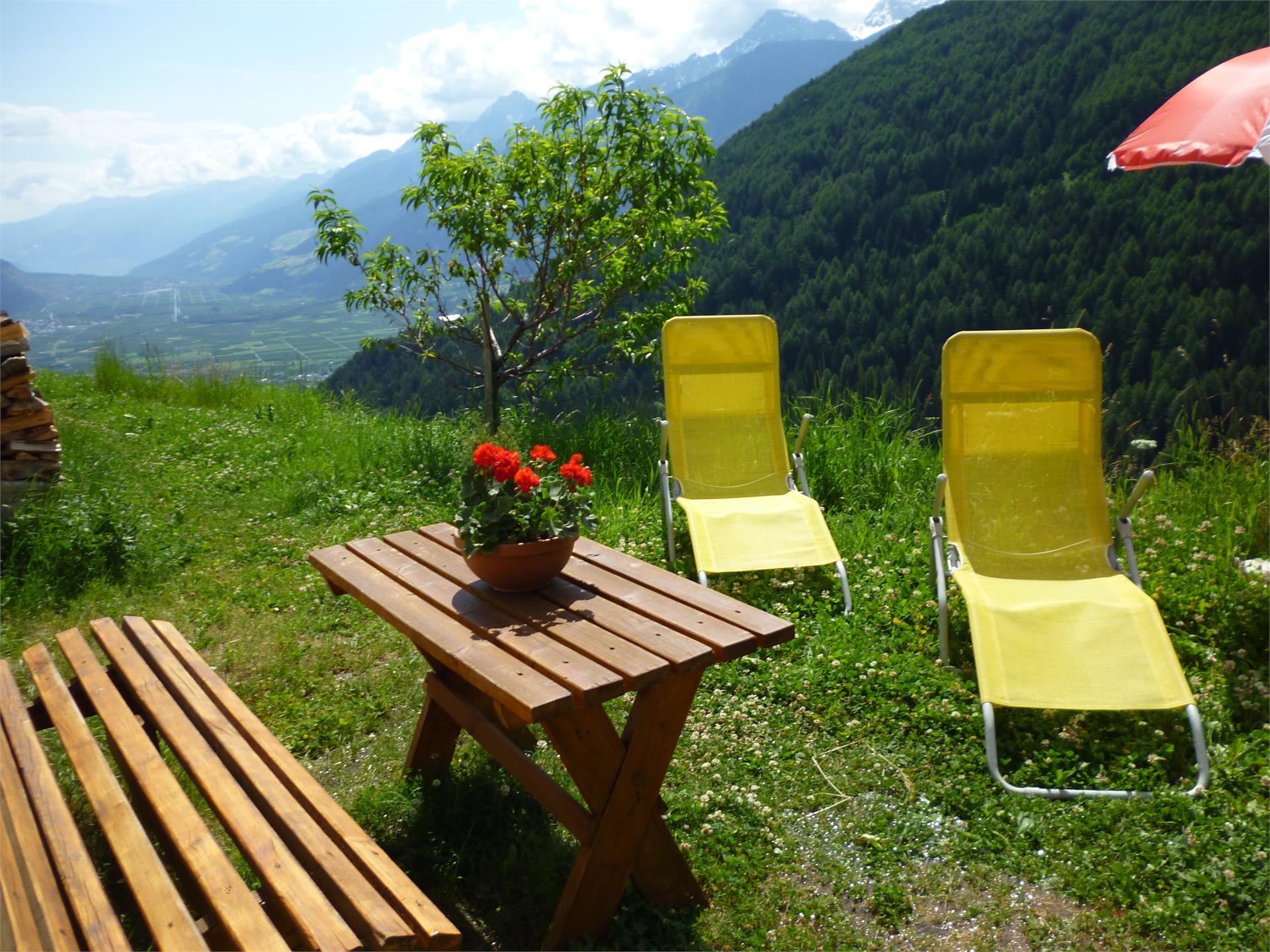 Il nostro giardino vi invita a rilassarvi