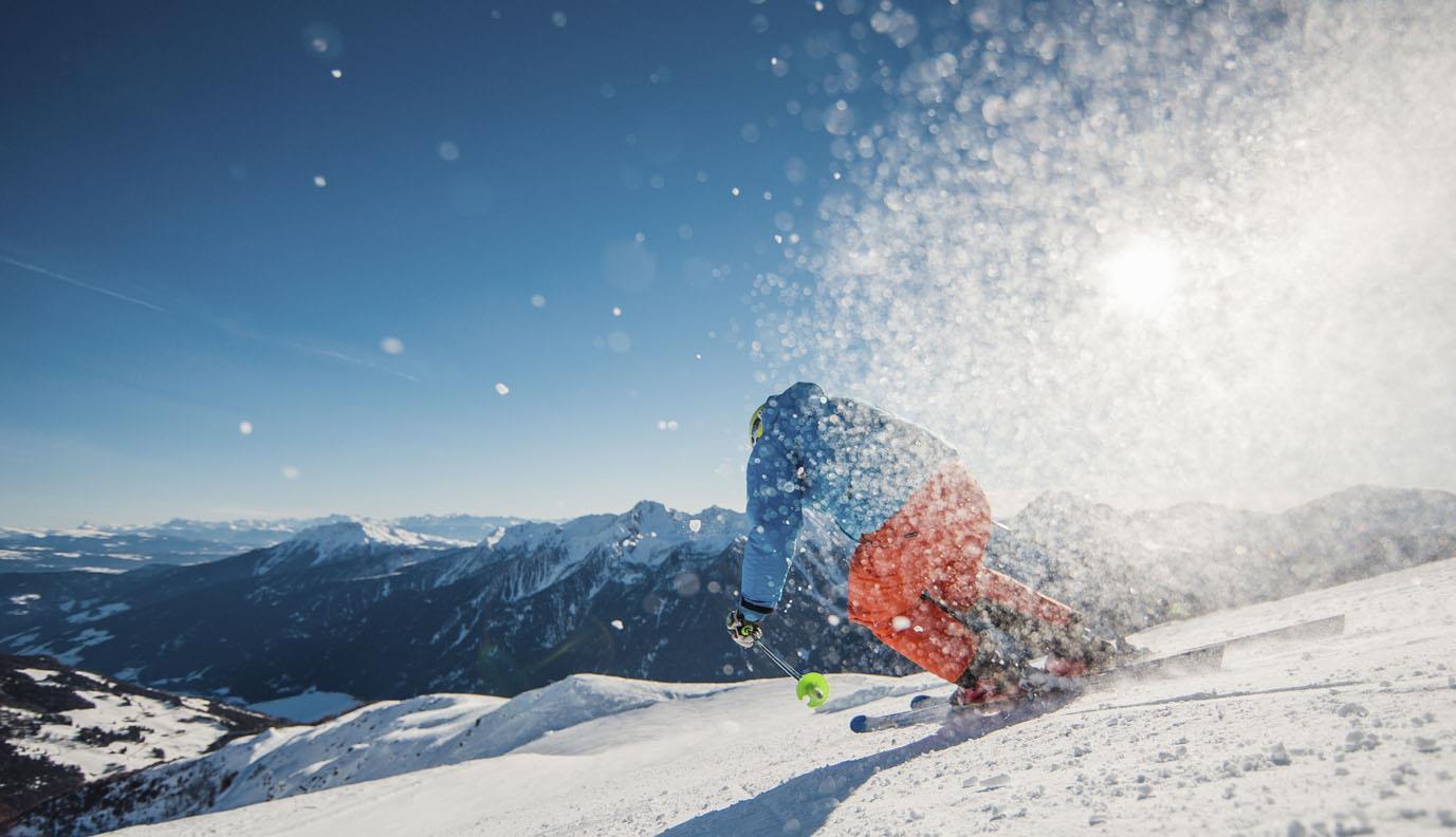 Skiweg St. Moritz