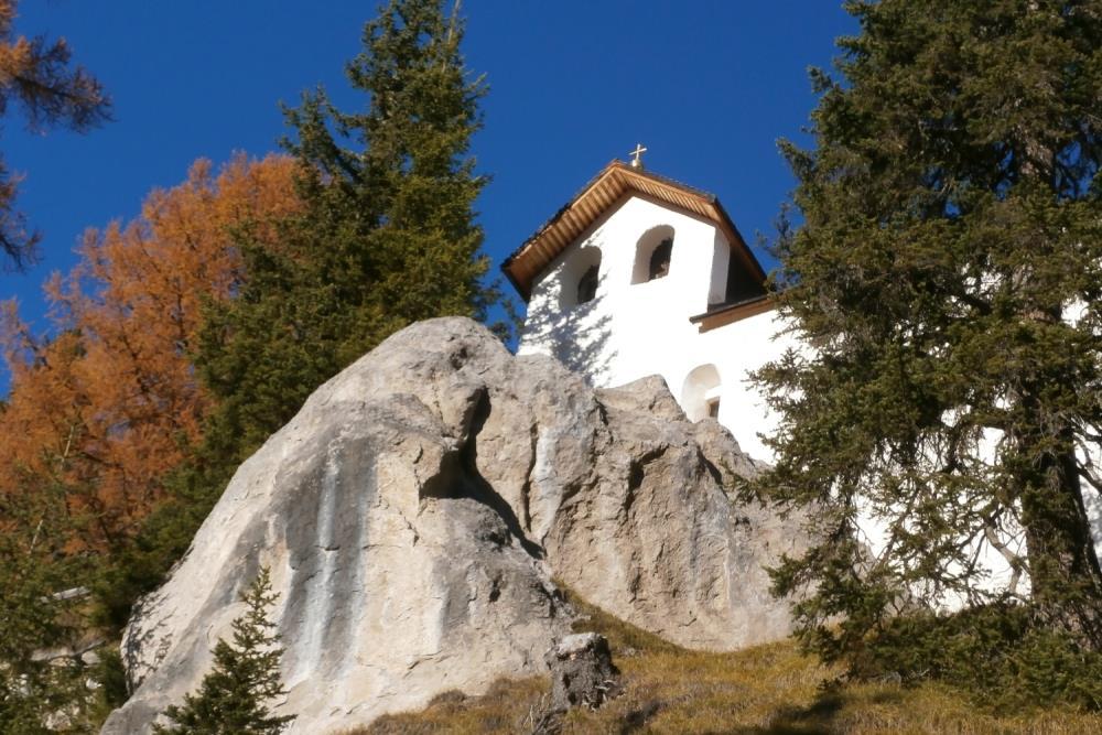 San Silvestro Chapel Prato alla Drava Winnebach