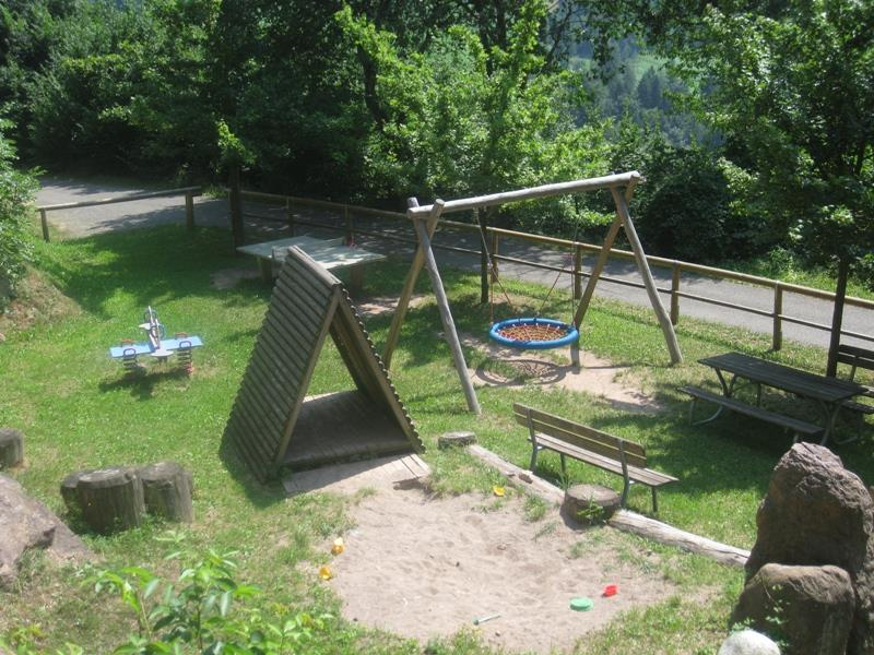 Spielplatz in Verschneid
