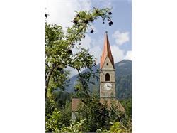 Pfarrkirche Zu den Heiligen Mauritius und Korbinian Parish Church in Caines/Kuens