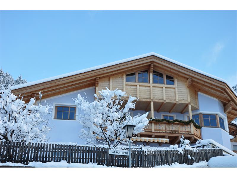 Winteransicht Haus Hinteregger