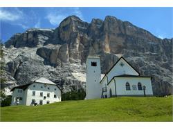 Wallfahrtskirche La Crusc/Heilig Kreuz