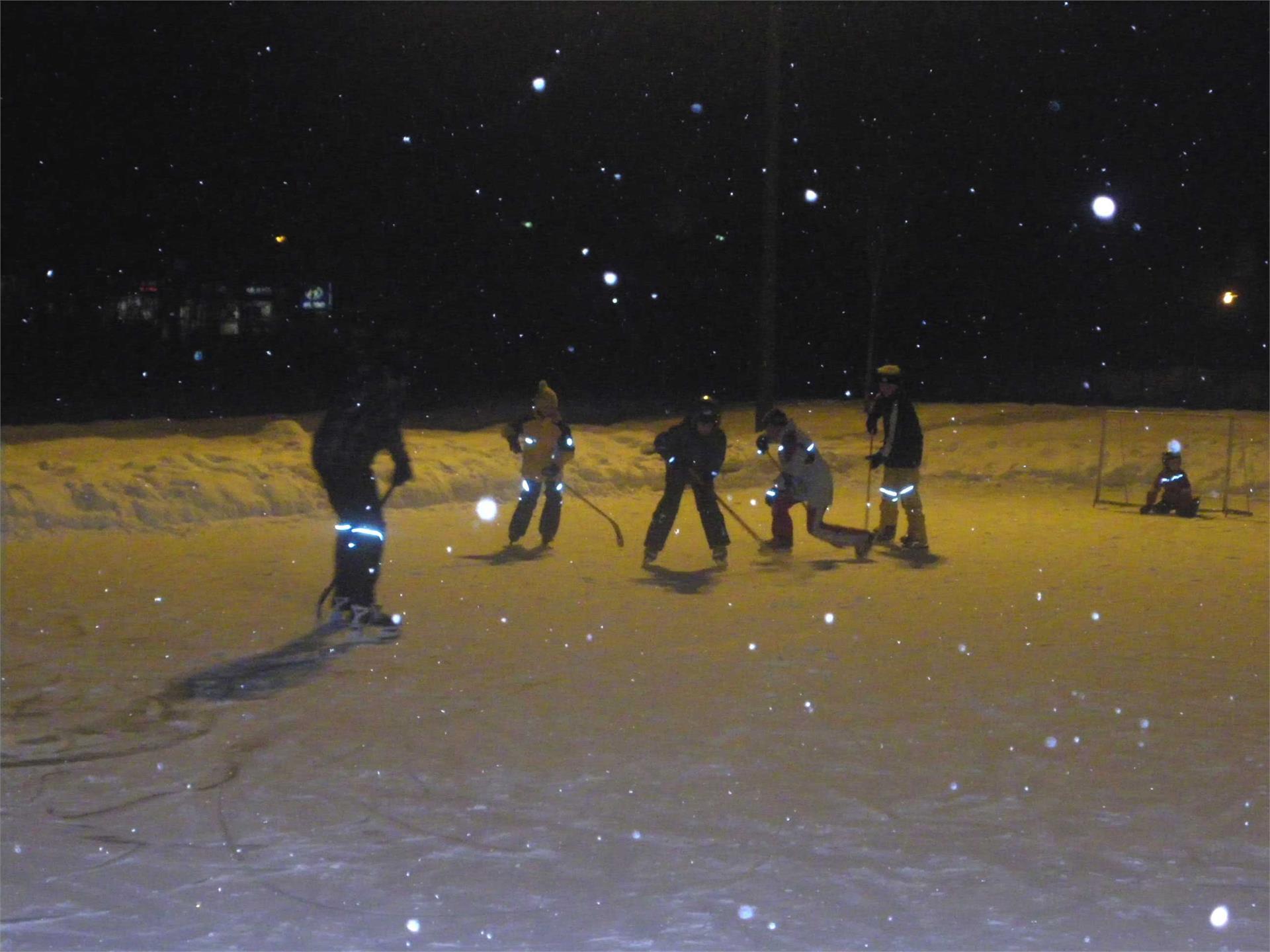 Ice skating Castelrotto