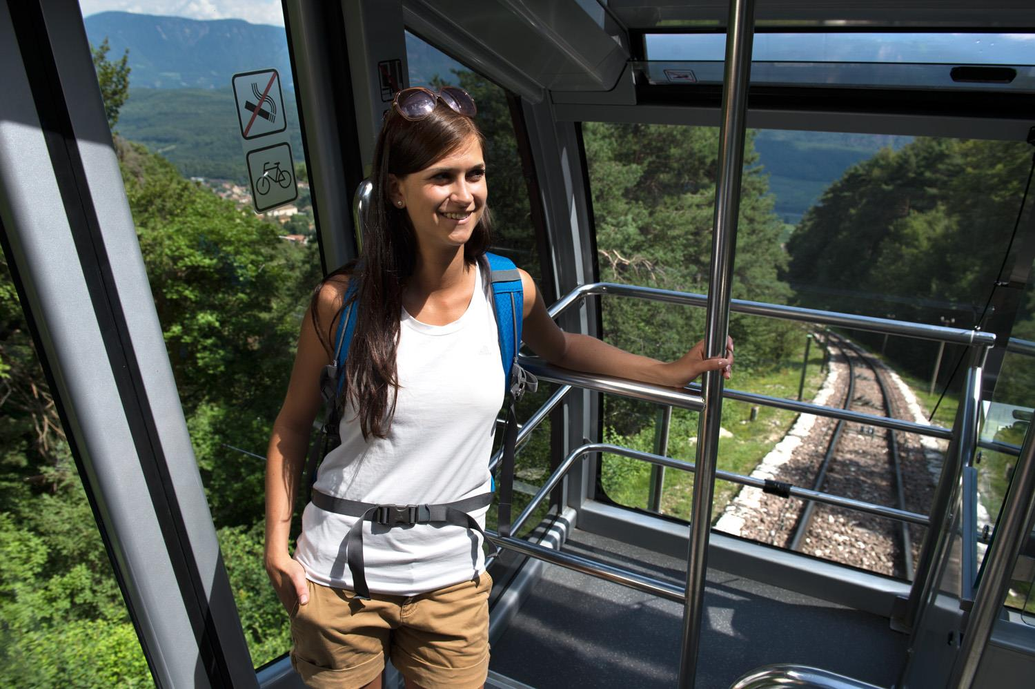 The Mendel Cable Car