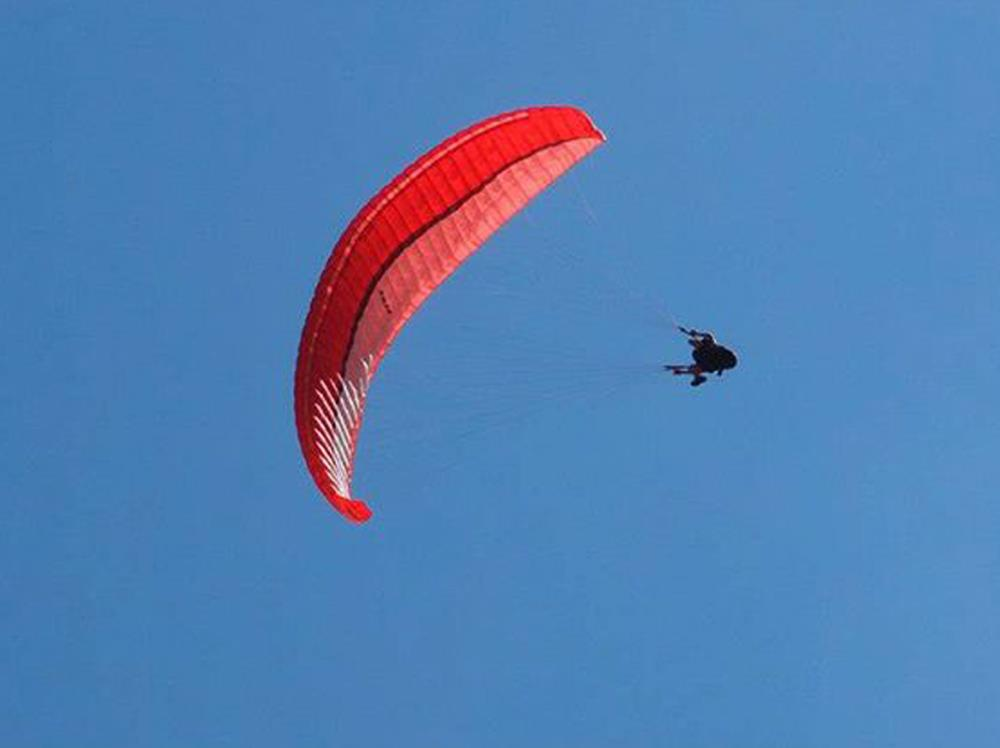 Paragliding in the Ulten Valley