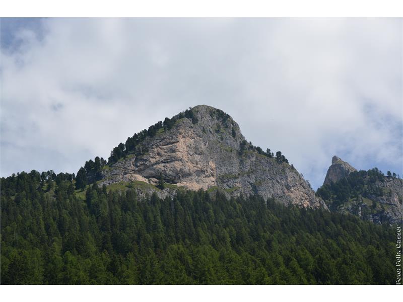 our house mountain Söllnspitz