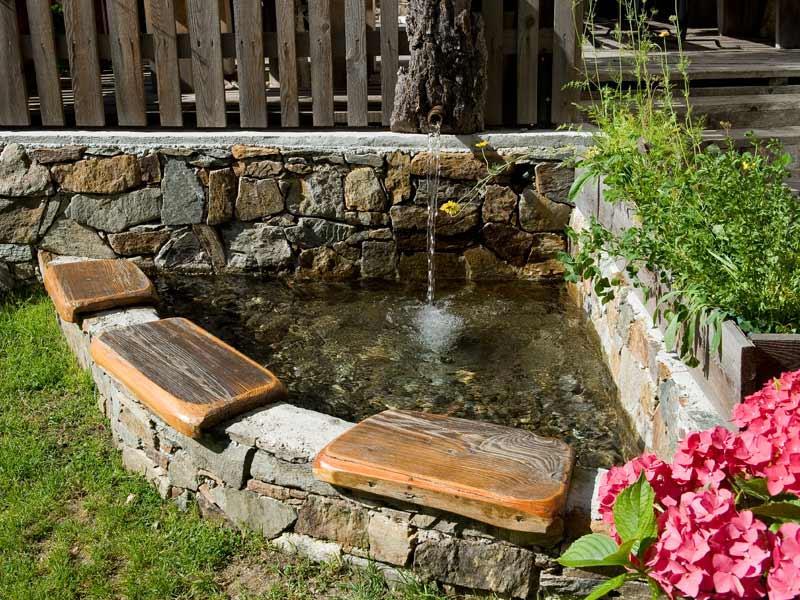 Natural spa water