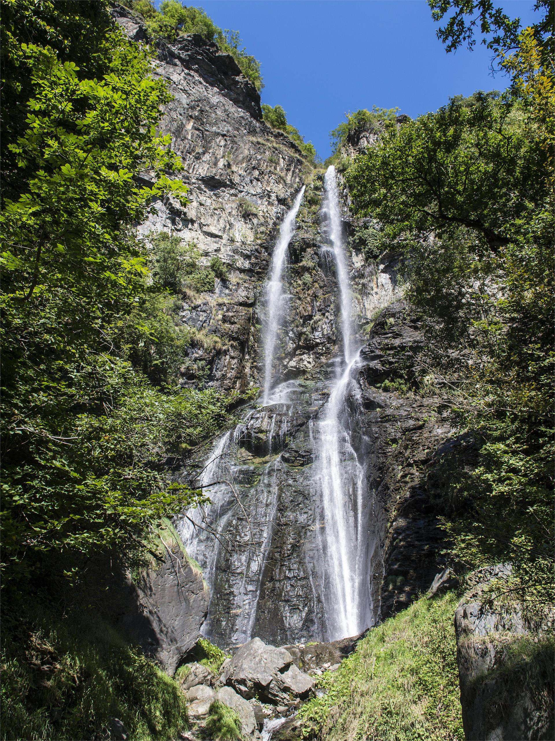 Wasserfall in Schrambach