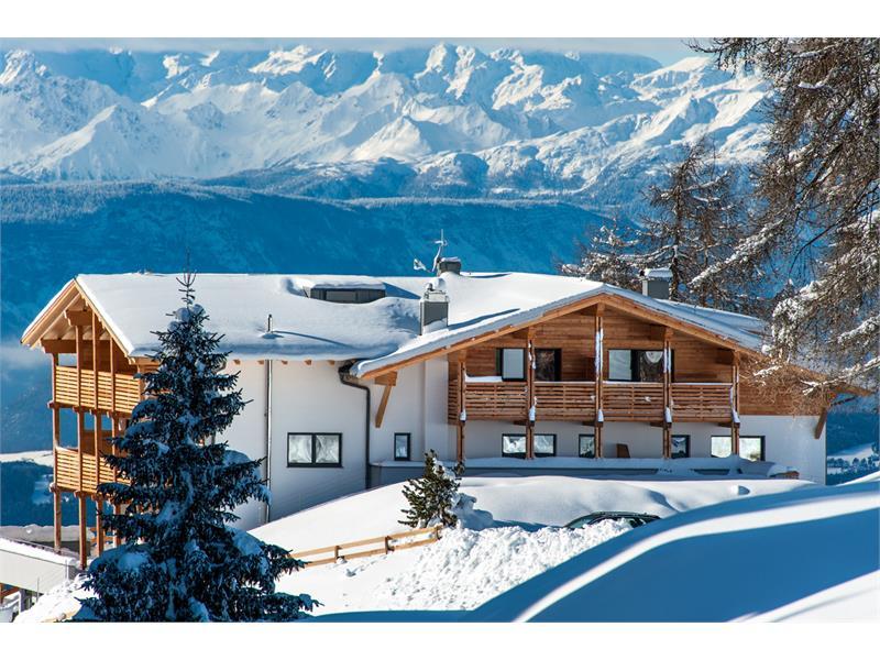 Chalet Dolomites in winter