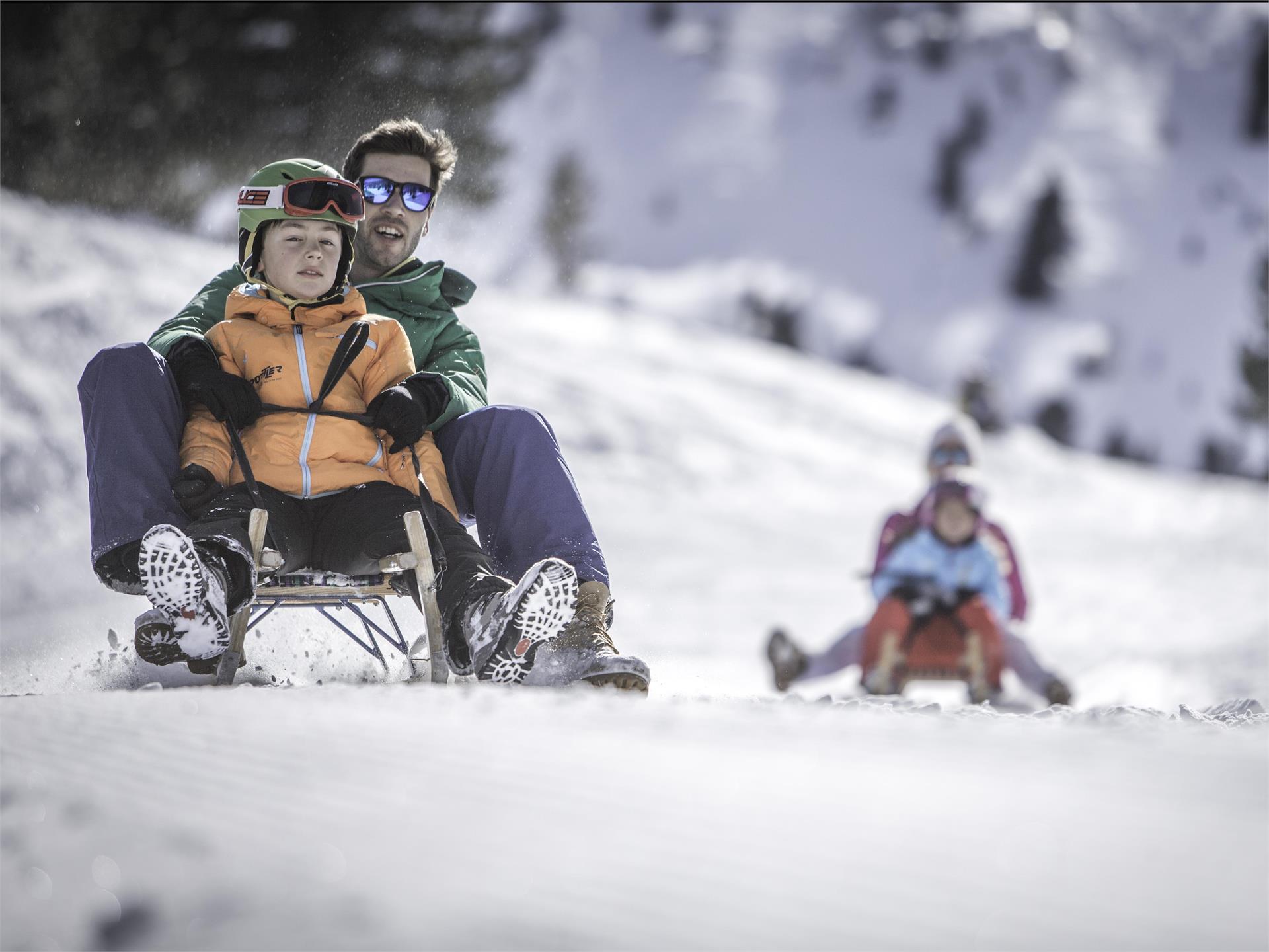 Rodel- und Skiroute Luttach