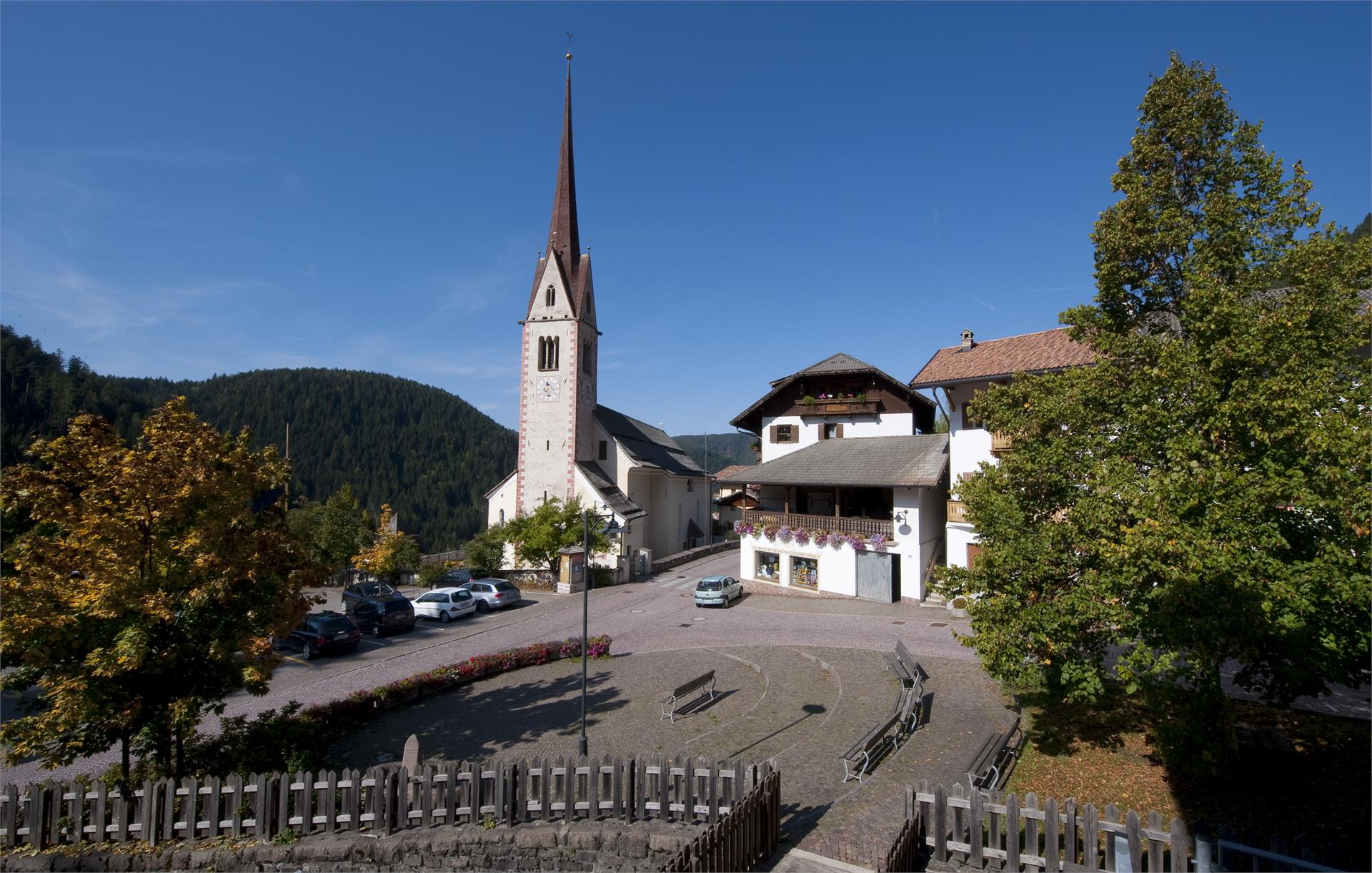 The St. Nicholas Parish Church in Ega