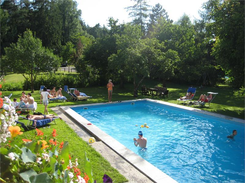 The swimming pool - Hotel Appartements Perwanger, Fié allo Sciliar