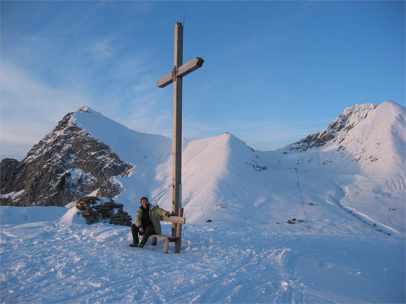Escursione invernale al giogo Kreuzjöchl