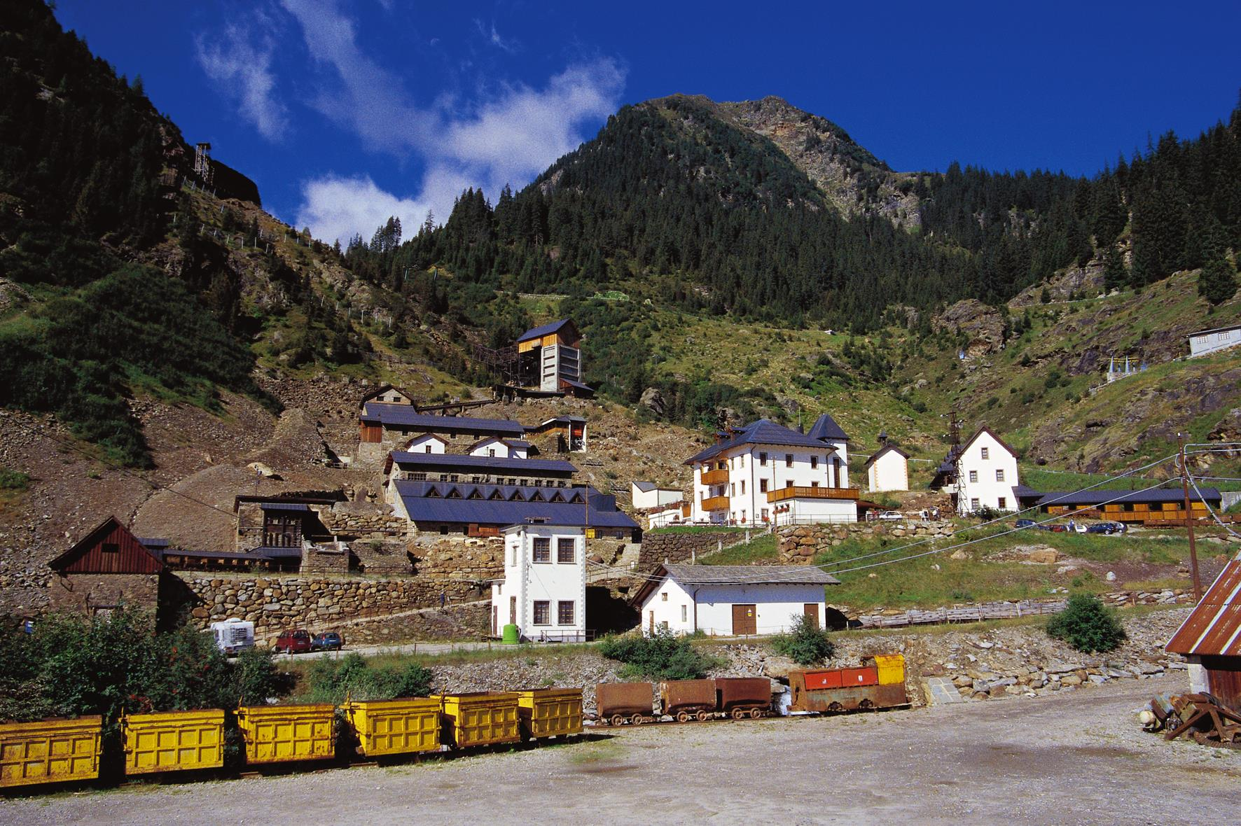 South Tyrol Museum of Mining - Mining World Ridnaun Schneeberg