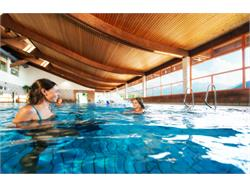 Indoor and outdoor pool at the Sportwell centre