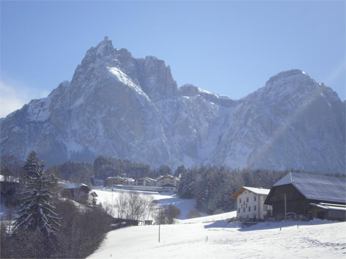 view on the Dolomites