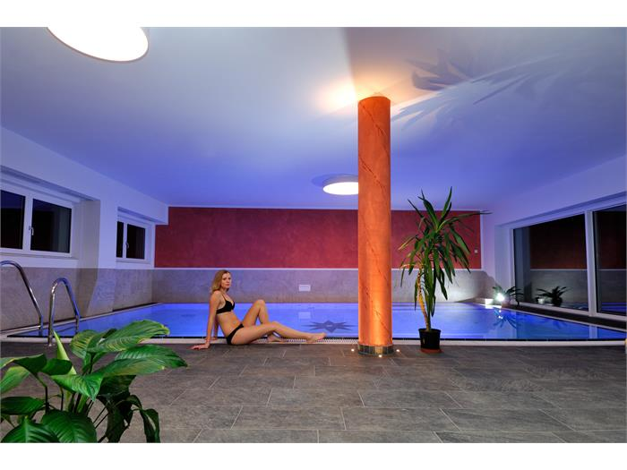Aparthotel Viktoria Castelrotto Alpe di Siusi Dolomiti new indoor pool with salt water