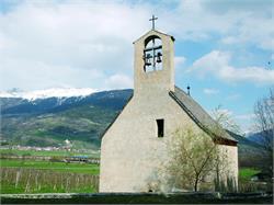 Chiesa di S. Giacomo a Söles vicino Glorenza