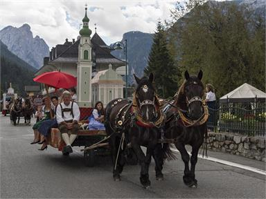 Great pageant antique craft Toblach/Dobbiaco