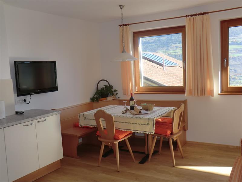 Wohnküche in der Wohnung Talblick