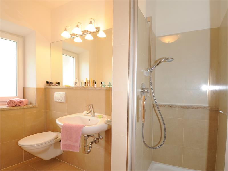 Example for bathroom in the double room