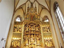 Chiesa parrocchiale di S. Maria Assunta con l'altare di Schnatterpeck