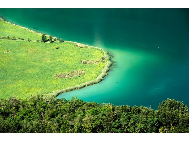 Der Kalterer See, ein Naturparadies