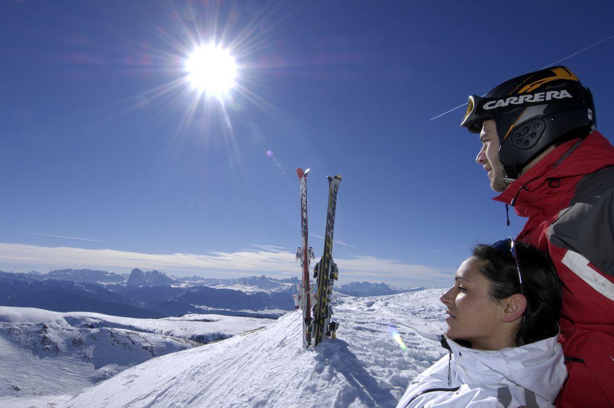 Ski Area Reinswald, Val Sarentino/Sarntal Valley, Ortlerskiarena, South Tyrol
