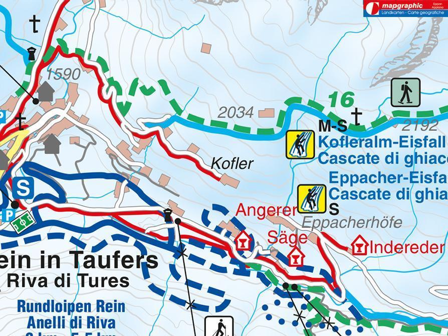Escursione invernale - Riva di Tures Masi Ebner+Kofler