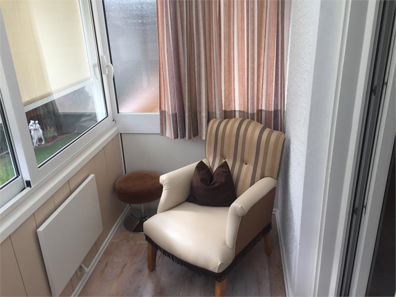 verglaster Balkon Typ C