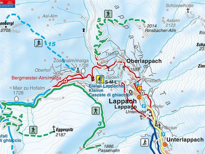 Passenalm Snowshoe hike