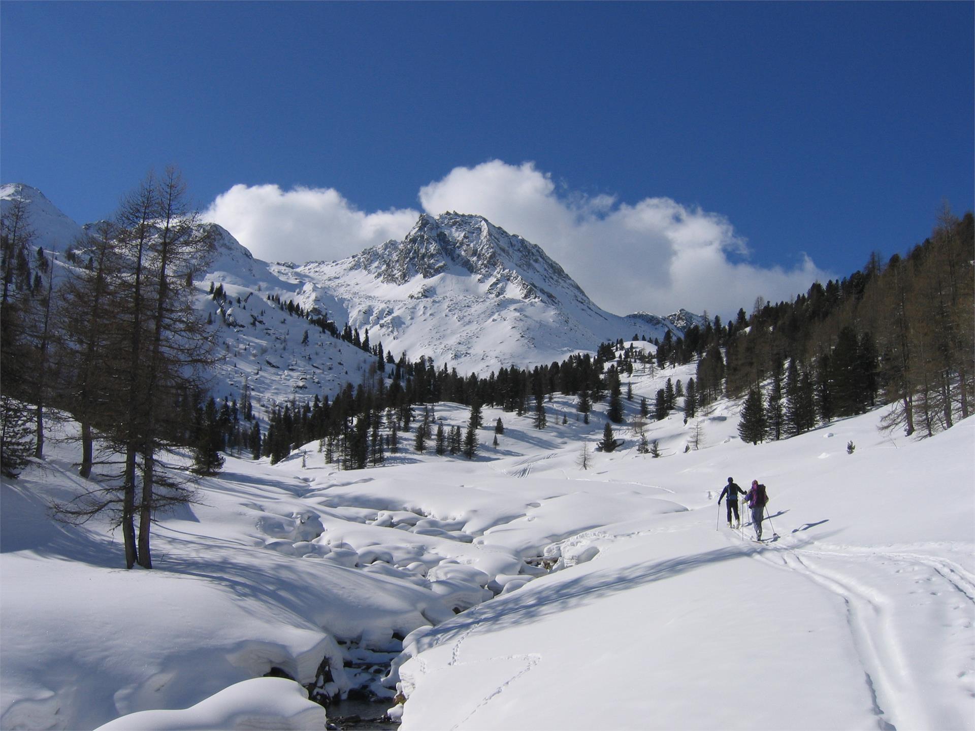Sci alpinismo alla Punta delle Fosse