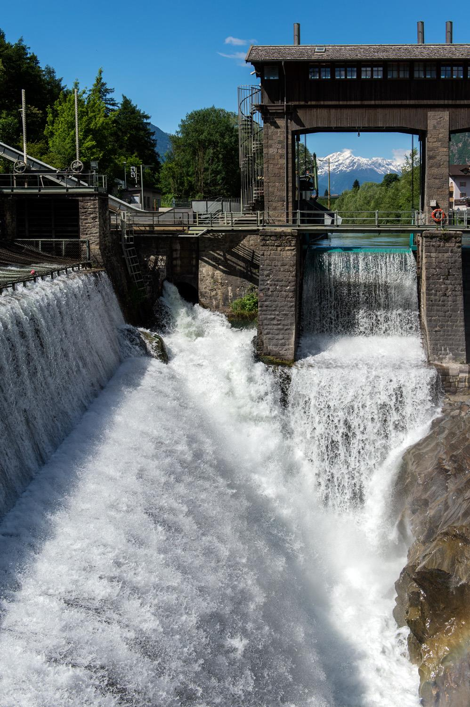 Wasserkraftwerk Töll