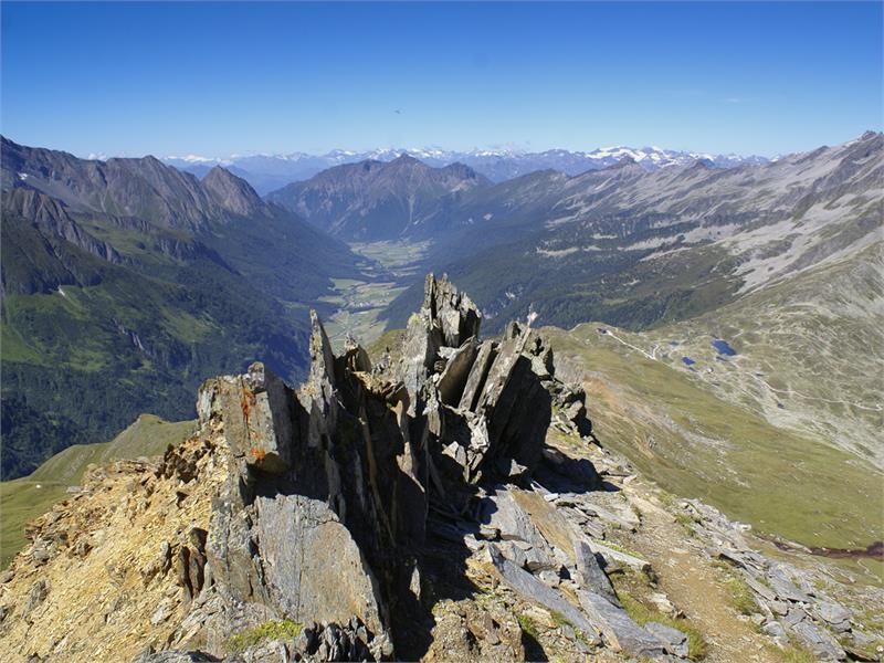 Robachler summit view Pfitsch Sterzing