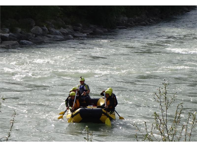 Rafting  Rienza