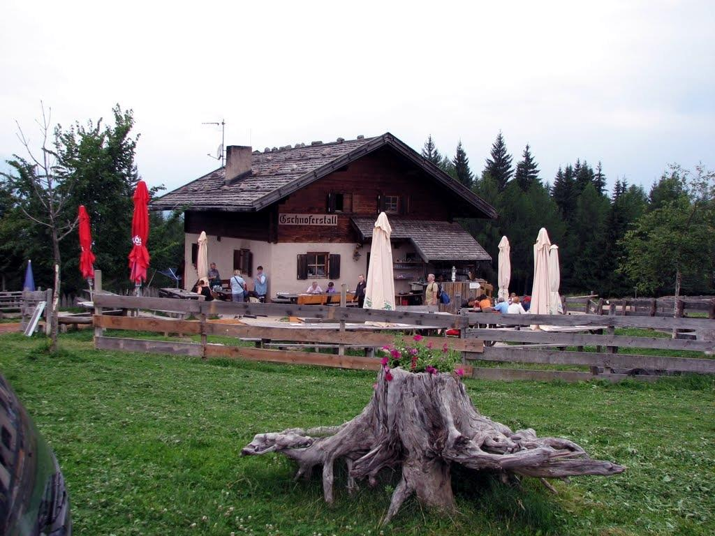 Meltina - Malga Gschnoferstall - San Genesio