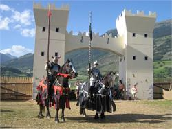 South Tyrol Knight's Games in Sluderno/Schluderns