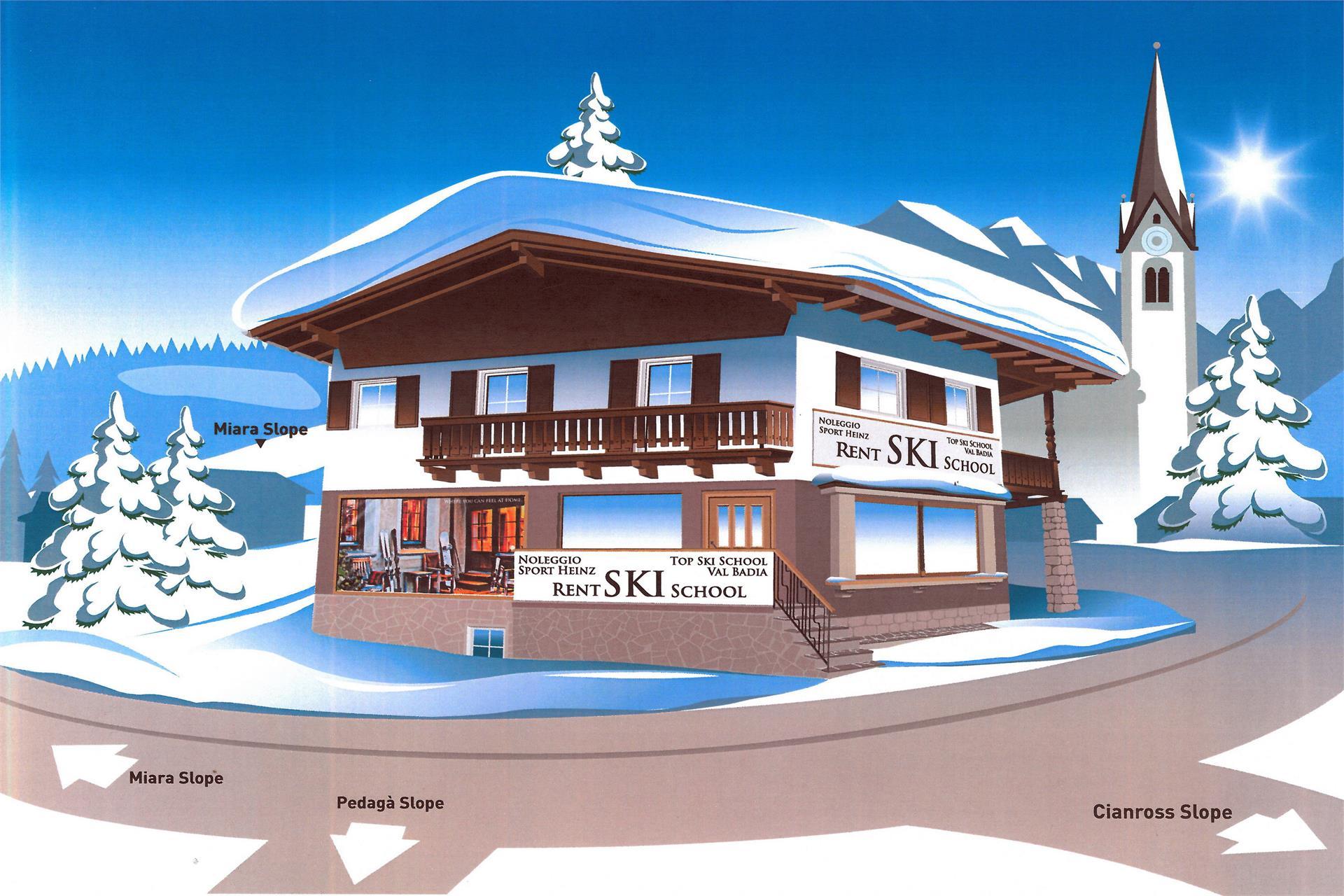 Ski rental Sport Heinz