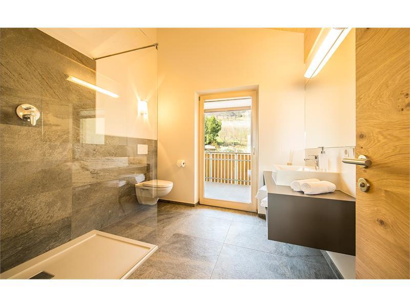 appartamento Dolomitenblick camera da bagno