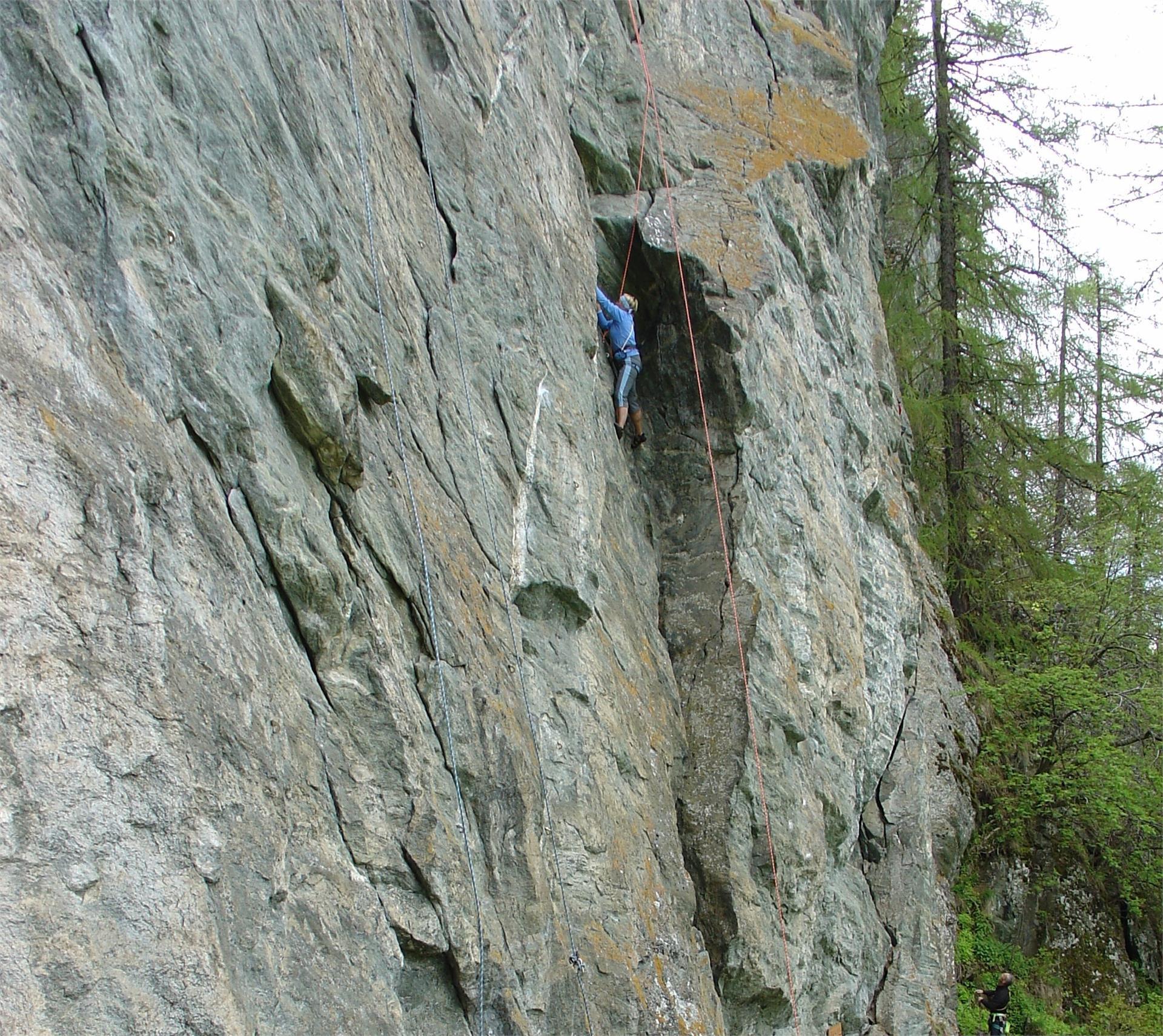 Climbing at the