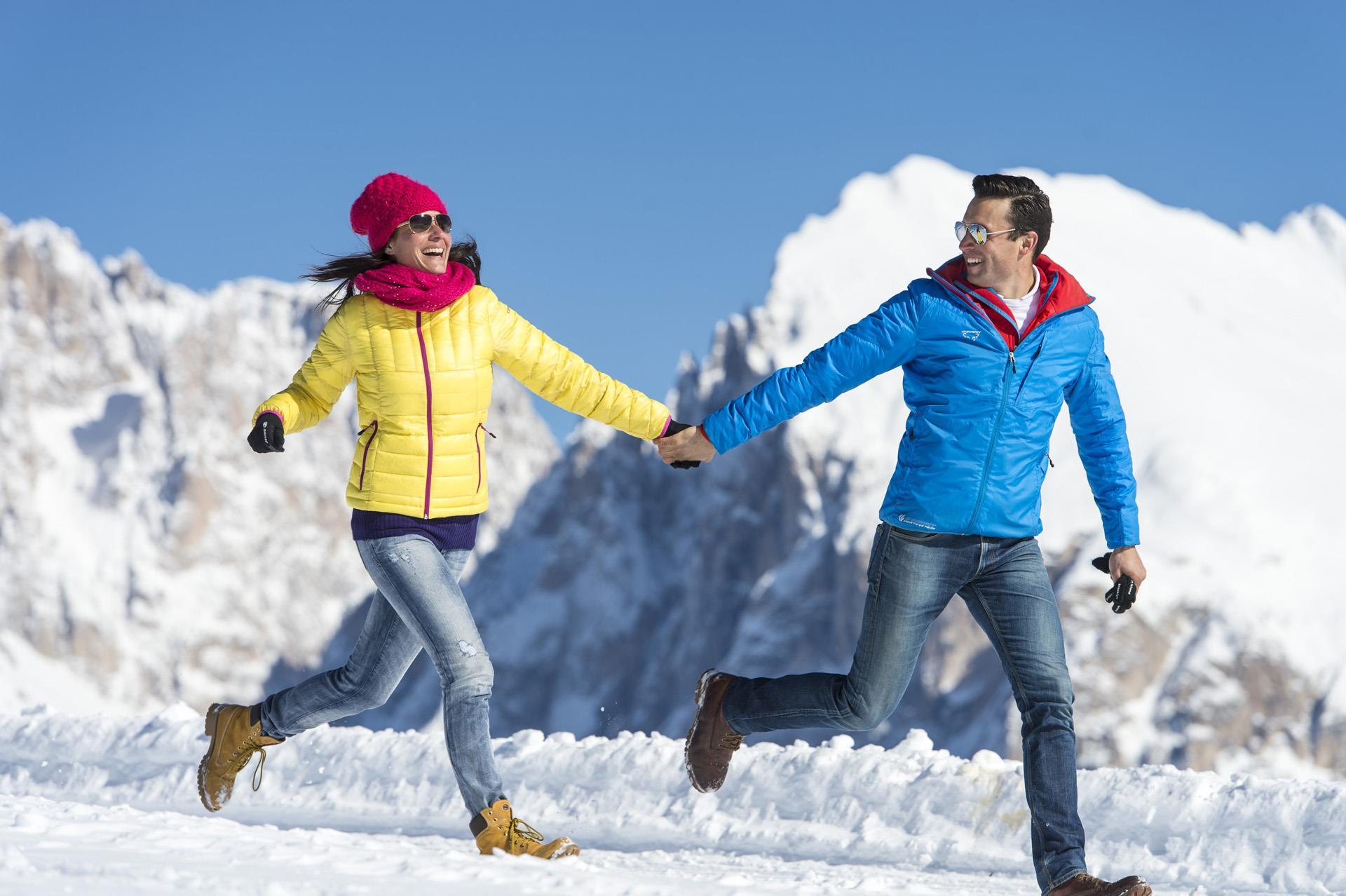 Winterwandung auf der Seiser Alm
