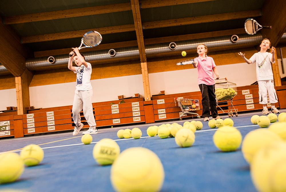 Indoor tennis center Campo Tures-Sand in Taufers
