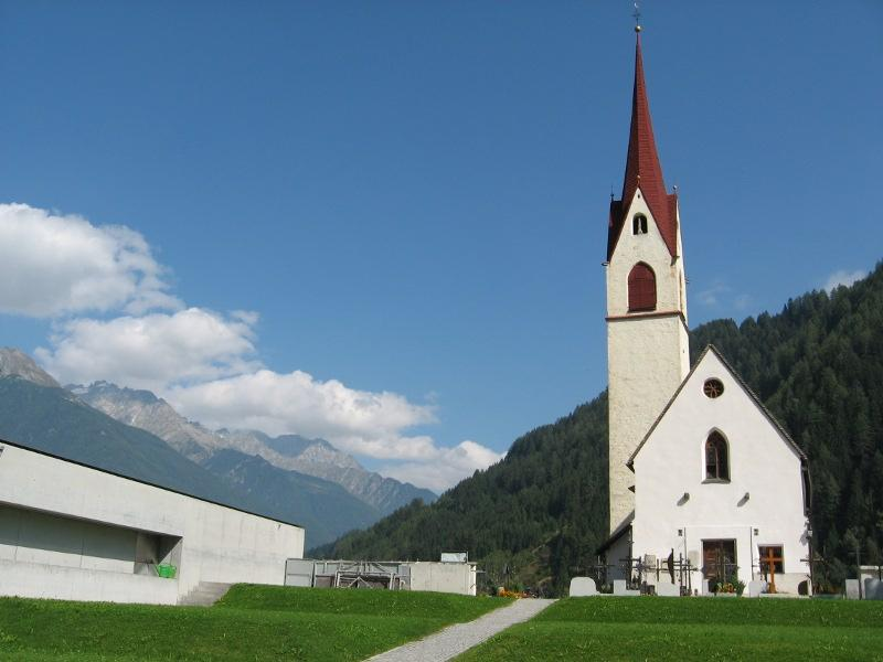 Parish church of St. Sebastian at Lutago-Luttach