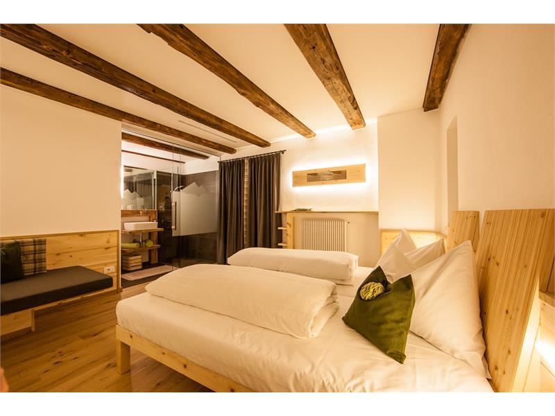 Neu eingerichtete Zimmer im Gasthof Waldbichl